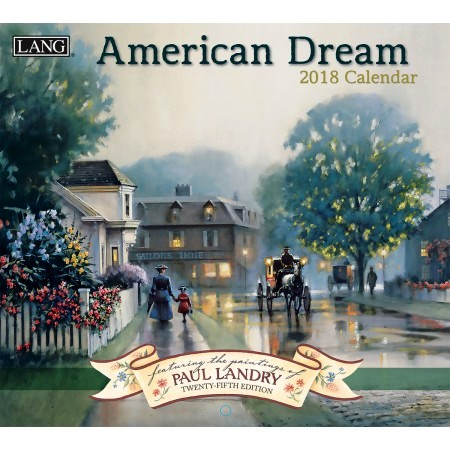 "2018 Lang Wall Calendar - ""American Dream"""
