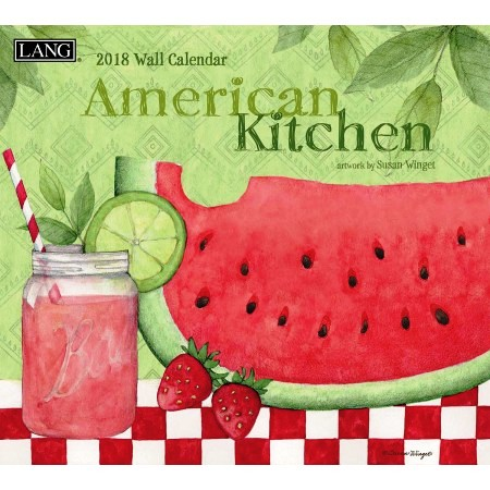 "2018 Lang Wall Calendar - ""American Kitchen"""