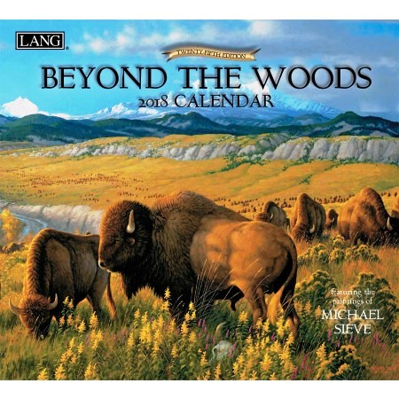 "2018 Lang Wall Calendar - ""Beyond The Woods"""