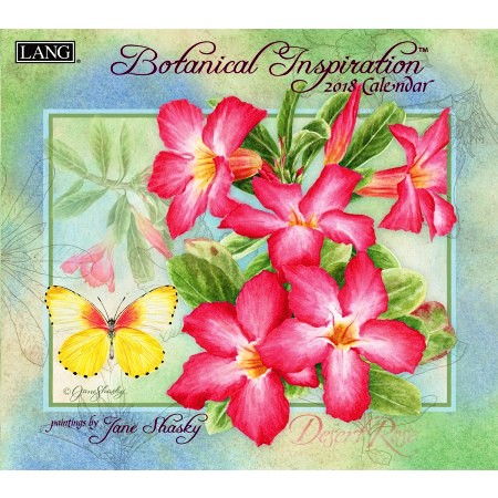 "2018 Lang Wall Calendar - ""Botanical Inspiration"""