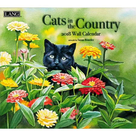 "2018 Lang Wall Calendar - ""Cats In The Country"""