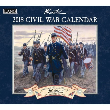 "2018 Lang Wall Calendar - ""Civil War"""