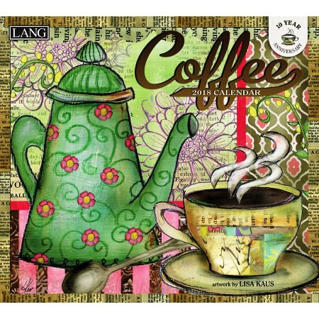 "2018 Lang Wall Calendar - ""Coffee"""