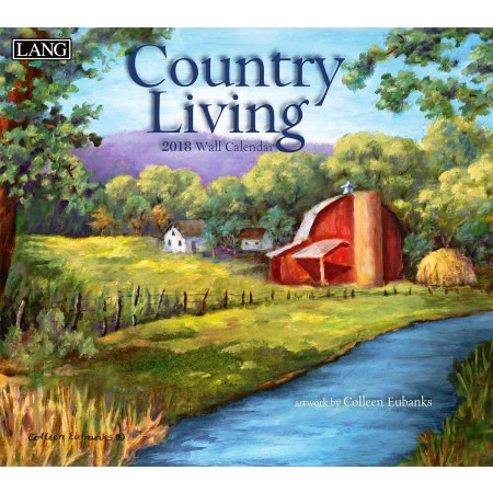 "2018 Lang Wall Calendar - ""Country Living"""