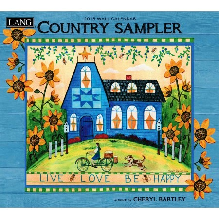"2018 Lang Wall Calendar - ""Country Sampler"""