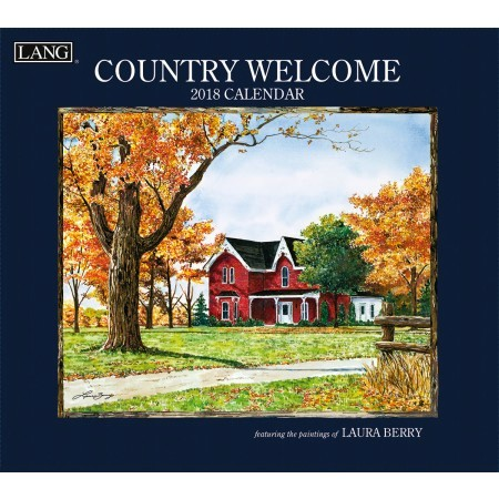 "2018 Lang Wall Calendar - ""Country Welcome"""