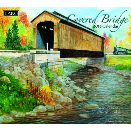 "2018 Lang Wall Calendar - ""Covered Bridge"""