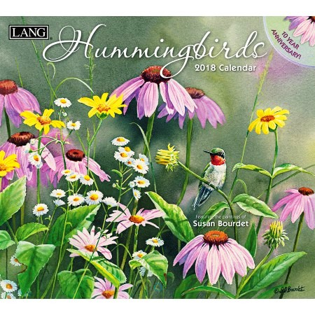 "2018 Lang Wall Calendar - ""Hummingbirds"""