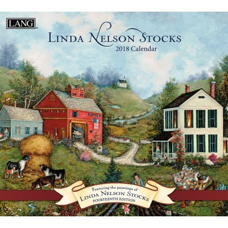 "2018 Lang Wall Calendar - ""Linda Nelson Stocks"""