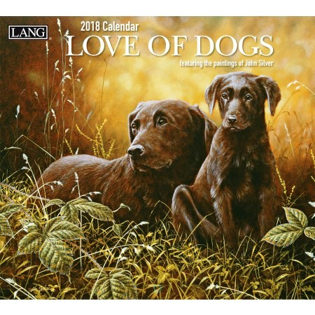 "2018 Lang Wall Calendar - ""Love Of Dogs"""