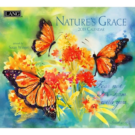 "2018 Lang Wall Calendar - ""Nature's Grace"""