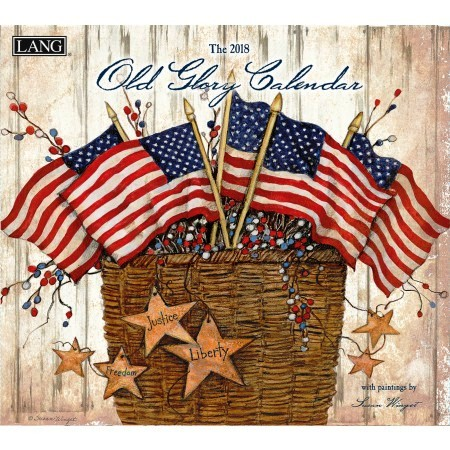 "2018 Lang Wall Calendar - ""Old Glory"""