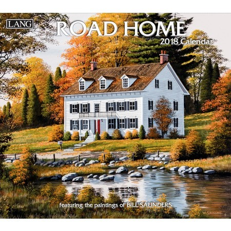 "2018 Lang Wall Calendar - ""Road Home"""