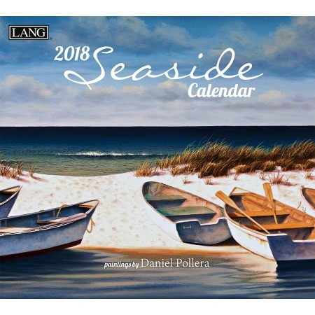 "2018 Lang Wall Calendar - ""Seaside"""