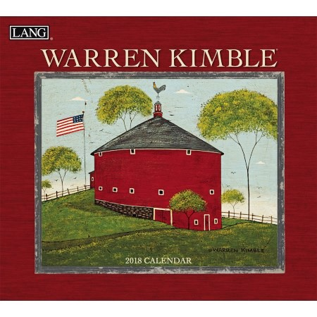 "2018 Lang Wall Calendar - ""Warren Kimble"""