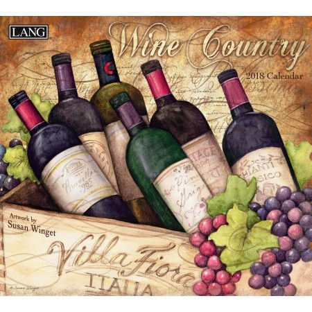 "2018 Lang Wall Calendar - ""Wine Country"""
