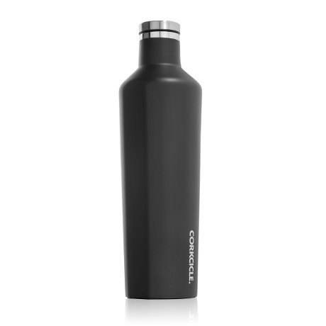 "25oz Canteen - ""Matte Black"""