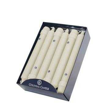 Colonial Candle - 8in Classic Tapers - Ivory