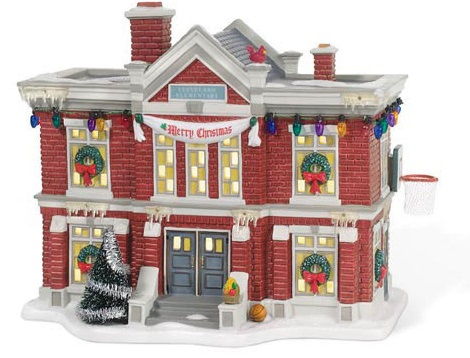 "Department 56 A Christmas Story - ""Cleveland Elementary School"""