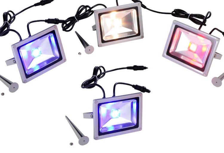App Enabled Lumenplay Color Splashers - 20W - 4 LED Light Kit