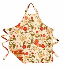 """Apron - """"Carlisle Red Reversible Quilted  Apron"""""""