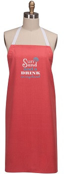 "Apron - ""The Sun And A Drink . . .Apron"""