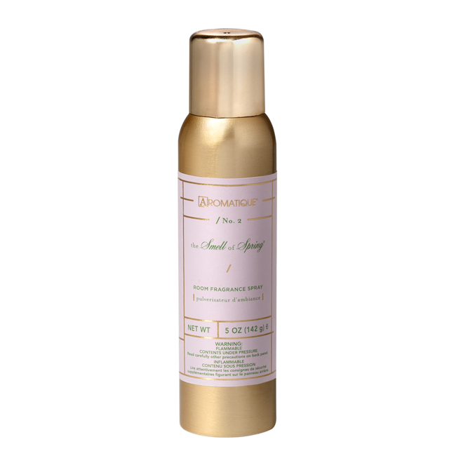 Aromatique - The Smell of Spring Aerosol Room Spray - 5oz