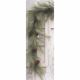 Mixed Needle Pine Garland - 6 Foot
