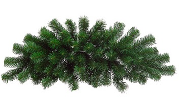 "Artificial Swag - ""Windsor Pine Needle Swag"" - 28"""
