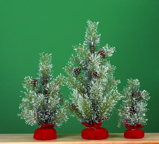"""Artificial Tree - """"Artificial Pine Tree In A Gift Bag"""""""