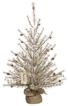 """Artificial Tree - """"Artificial Pine Tree with Ice"""" - 3'"""