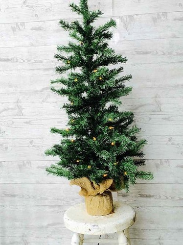 """Artificial Tree - """"Artificial Pine Tree with Lights"""" - 3'"""