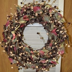 "Artificial Wreath - ""Chelsea Wreath"" - 16"""