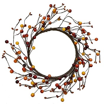 "Artificial Wreath - ""Spice Berry Wreath"" - 12"""