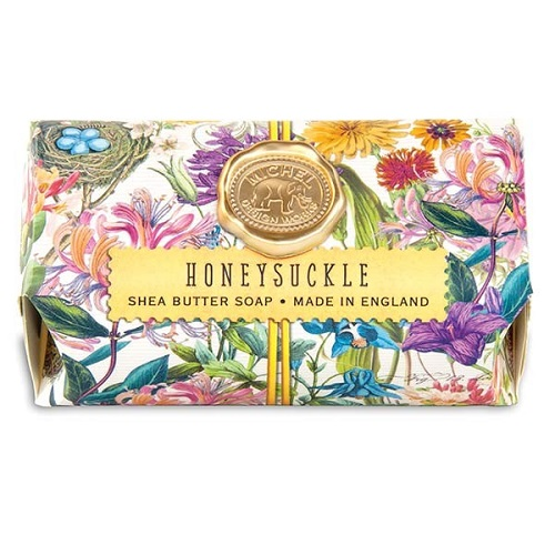 "Bath Soap Bar - ""Honeysuckle Bath Soap Bar"""