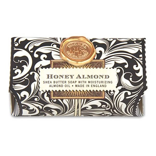 "Bath Soap Bar - ""Honey Almond Bath Soap Bar"""