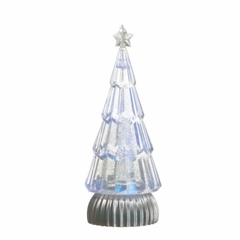 """Battery Operated Shimmer Tree - """"Battery Operated Shimmer Tree"""" - White"""