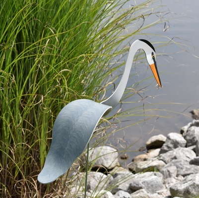 Blue Heron Dancing Bird - Decorative Garden Stake