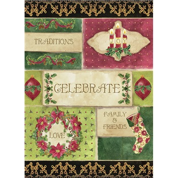 "Boxed Christmas Cards - ""Celebrate Christmas"""