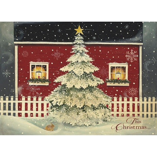 boxed christmas cards windows - Christmas Photo Cards 2017