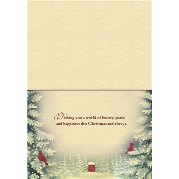"""Boxed Christmas Cards - """"Winter Wreath"""""""