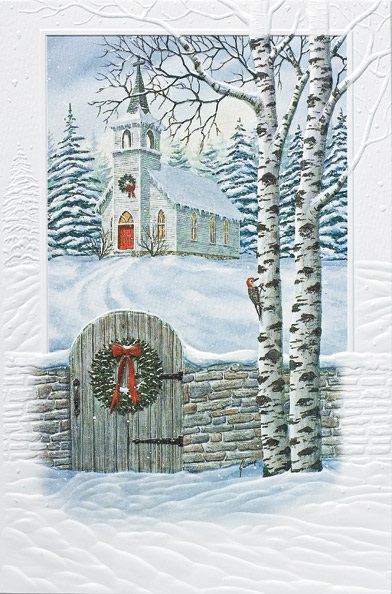 "Boxed Christmas Cards - ""Yuletide Tradition"""