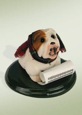 Byers Choice Accessory - Bulldog