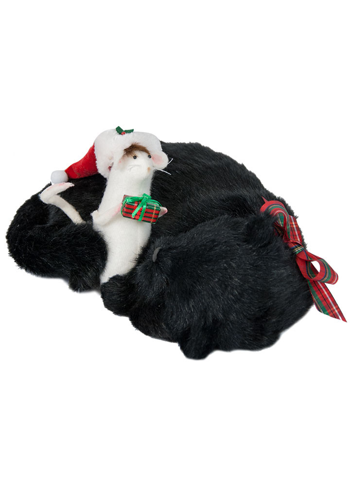 Byers Choice Accessory - Catnap Mouse 2018