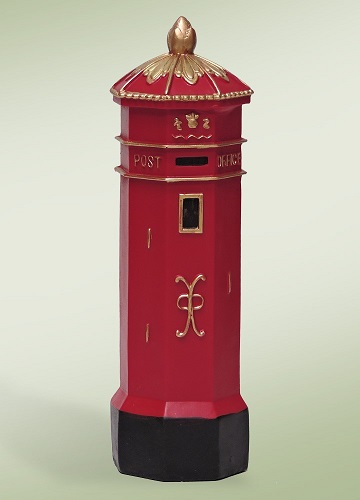 "Byers Choice Accessory - ""English Mailbox"""