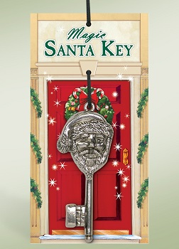 Byers Choice Accessory - Magic Santa Key 2015