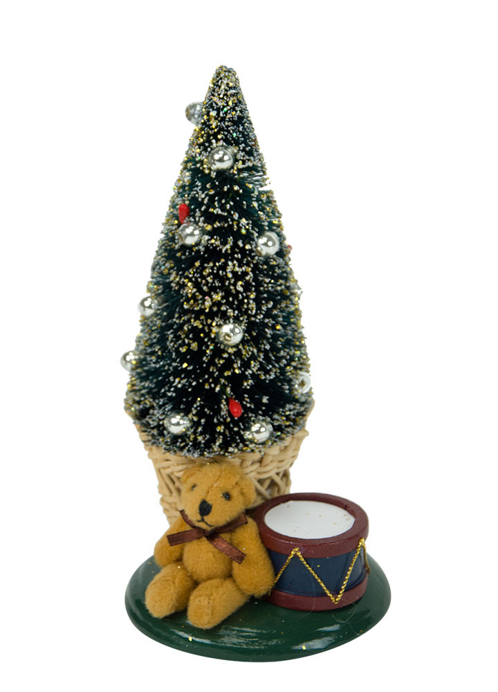 Byers Choice Accessory - Small Tree with Toys 2018