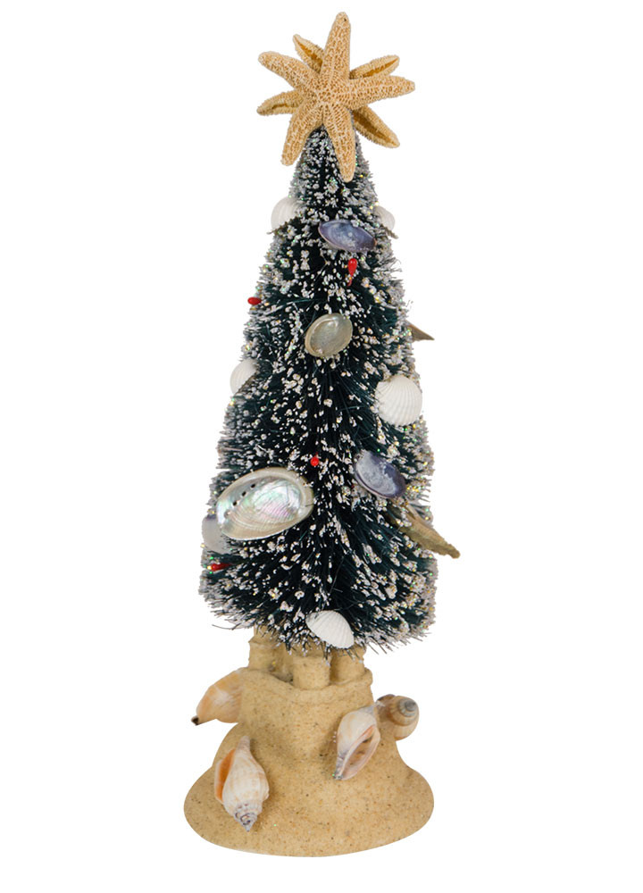 Byers Choice Accessory - Seashell Christmas Tree 2018