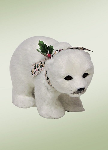 Byers Choice Accessory - Walking Polar Bear Cub