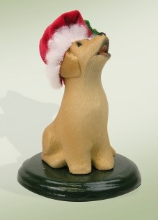 Byers Choice Accessory  - Yellow Labrador Dog